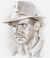 Indiana Jones by gregchapin