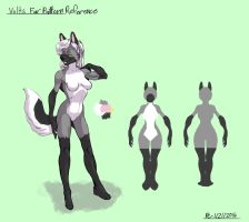 Volts Fur Pattern Reference by FlyingRam
