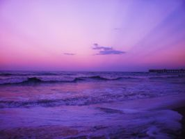 the purple sunset by kriss1992