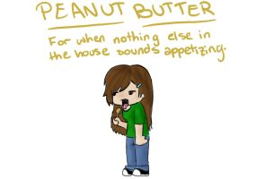 Peanut Butter by jeevani