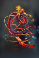 Chinese dragon by Orphen-Sirius