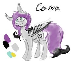 Coma - reference sheet by Blue-Lollypop