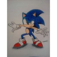 Sonic the Hedgehog by android17lover