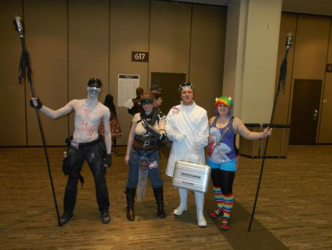 War Boy, Furiosa, Dr.Horrible, and Sashasama by Jagarnot