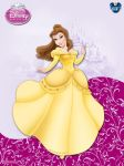 DisneyPrincess - Belle ByGF by GFantasy92