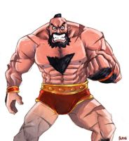 Zangief by buang