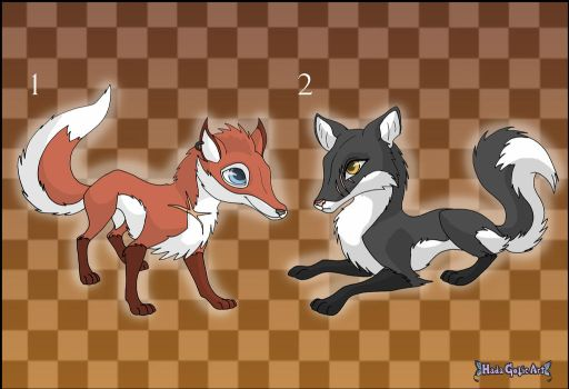 [Closed] Commission: Fox Adoptables by Almairis