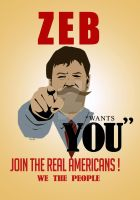 ZEB Wants You - Join The Real Americans by sentryJ