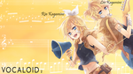 Kagamine Twin Wallpaper by TopHatea