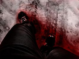 Walking on Blood by KMoongangSR