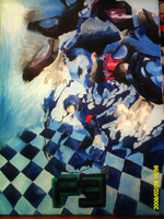 Persona 3 Oil Painting by yuyufan13