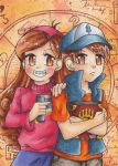 Gravity Falls - The secrets to the track by LuckyAngelausMexx