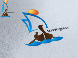 Travel Agency Logo Design by Andycoco