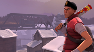 Serious Scout in Viaduct *TF2 SFM* by Tsuzumikin