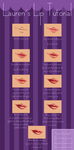 [SAI] Lip Tutorial! by Elerya