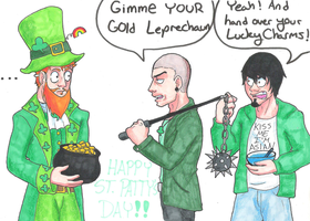 Happy St. Patty's Day by LlovesHalo