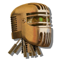 Robot Head Icon Mk5 by pendragon1966