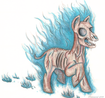 MLP fallout - Hightower ghoul by devilsreject493