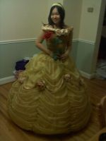 Belle Ballgown Commission by AllenGale