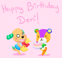 Happy Birthday Deni by Chenanigans