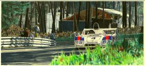 Jackie Ickx at LeMans by klem