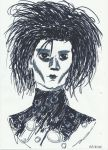 Edward Scissorhands by Borntobeashank