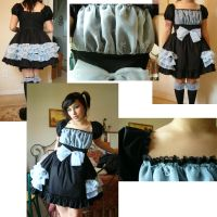 Organza Overlay Bow Dress by BambiBlast