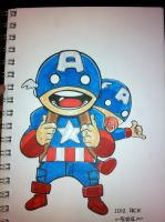 Cap n Baby Cap commission ACE by MARR-PHEOS