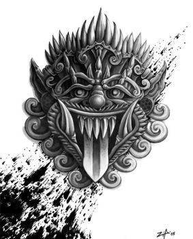 mask by tattoos-by-zip