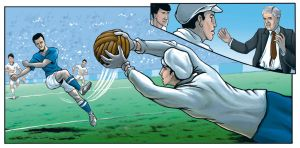 Football Comic Test by markador