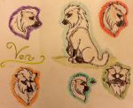 Von sketch dump and fullbody image by AdineArts