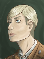 Commander Erwin Smith by arcanein