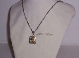 1st Triforce Necklace Legend of Zelda Custom OOAK by TorresDesigns