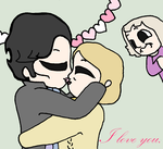I Love You - Johnlock Valentines - BBC Sherlock by AmazingAceArmy