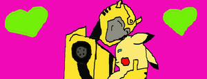 Bumblebee + Moniku by ProwlLover00