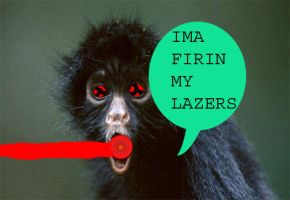 imma firin ma lazers by The-not-Mario-guy