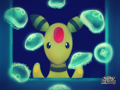 Ampharos by Sapphiredrop