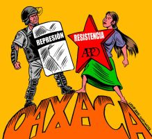 Oaxaca Resists 3 by Latuff2