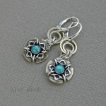 Earrings with Turquoise by taniri