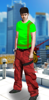 Mirrors Edge Runner. by Timaman
