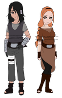Naruto Adoptable Gatchapon - Capsules 8 and 9 by mistressmaxwell