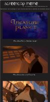 Treasure Planet screenscap meme by clovercarmen5