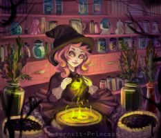 Witchcraft by Hohoemii