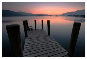 Derwent Water Jetty by placey