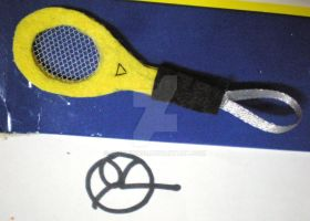 Racquet keyholder by 402ShionS3