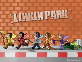 LP : Linkin Park On Street by youngthong-art