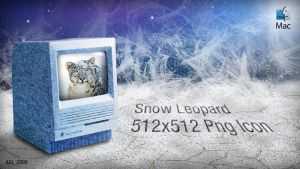 Snow Leopard Icon by AxlDeLarge