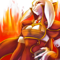 Lena Fire by Quadrackss