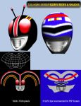 This How I Uv Map Kamen Rider Shaider by Jepoi