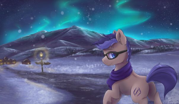 Northern lights by Ardail